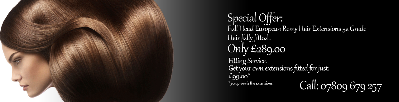 Hair Extension Service Natural Hair Extensions Northampton
