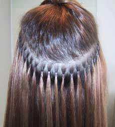 Malaysian Hair Extension Method 13